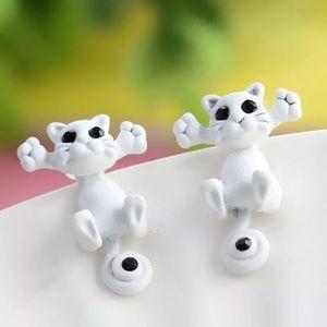 Jewelry - 3D Cat earrings